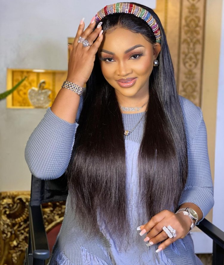 Nollywood Actress Mercy Aigbe Reacts To Photo of Obasabjo and The New Olu of Warri