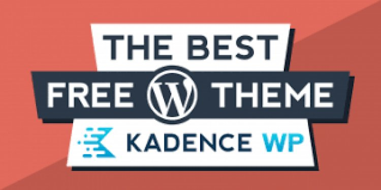 Create different headers with the Kadence Theme