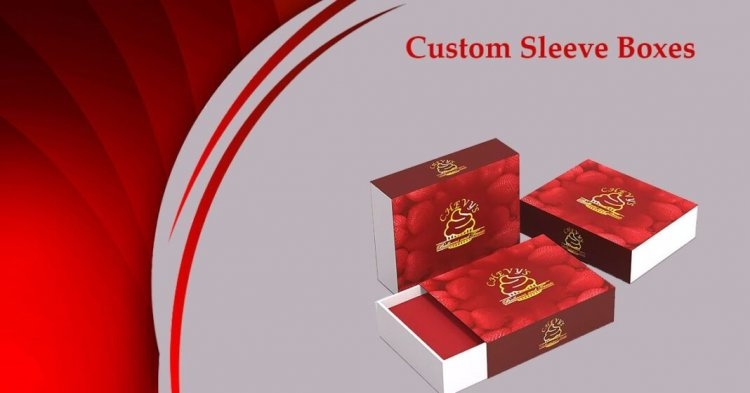 Get Custom Sleeve Boxes Wholesale at Urgent Boxes