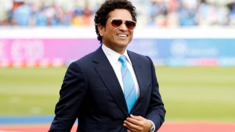 Fun Stroke of Master: Tendulkar Posted the Video While Batting at Home