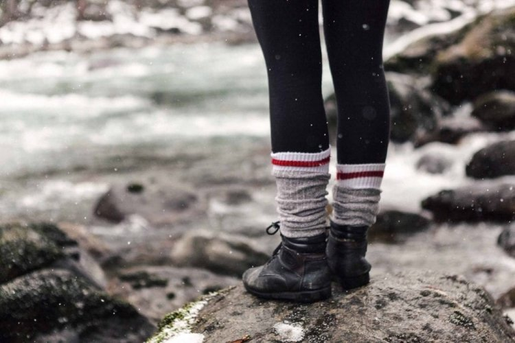 Make your winter comfortable by wearing thermal wear and socks!