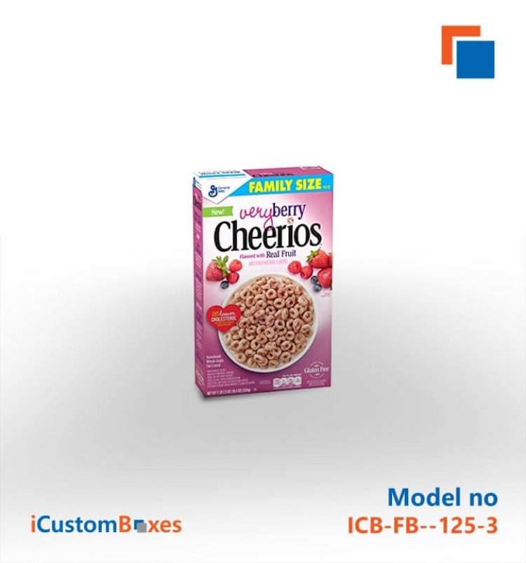 Get blank cereal boxes at Wholesale rates